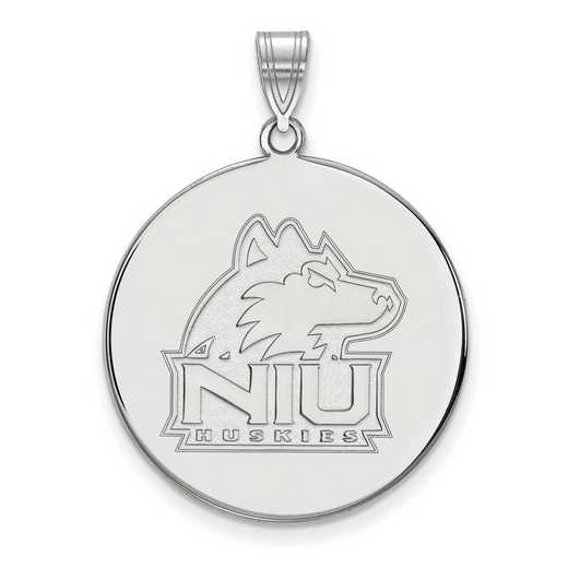 SS035NIU: SS LogoArt Northern Illinois Univ XL Disc Pendant