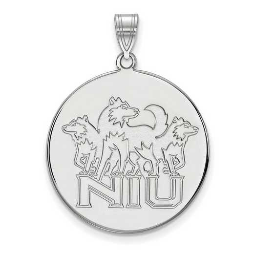 SS037NIU: SS LogoArt Northern Illinois Univ XL Disc Pendant