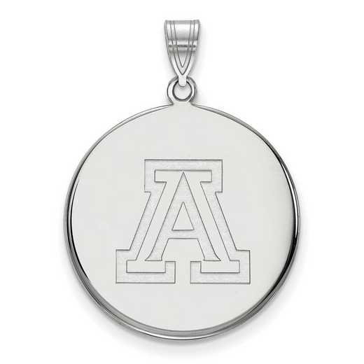 SS041UAZ: SS LogoArt Univ of Arizona XL Disc Pendant