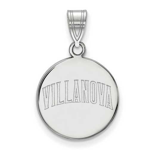 SS042VIL: SS LogoArt Villanova Univ Medium Disc Pendant