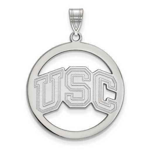 SS045USC: SS Univ of Southern California L Pendant in Circle