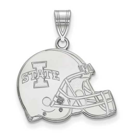 SS046IAS: SS LogoArt Iowa State Univ Football Helmet Pendant