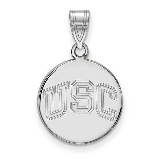 SS048USC: SS Univ of Southern California Medium Disc Pendant