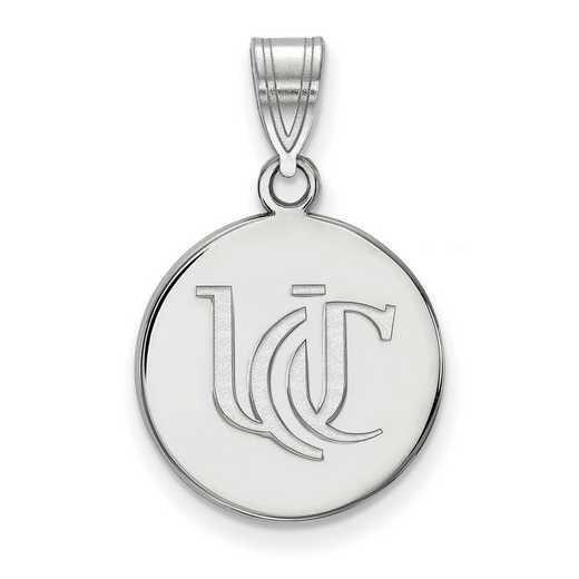 SS050UC: SS LogoArt Univ of Cincinnati Medium Pendant