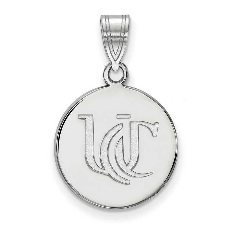 SS050UC: SS LogoArt Univ of Cincinnati Medium Pendant