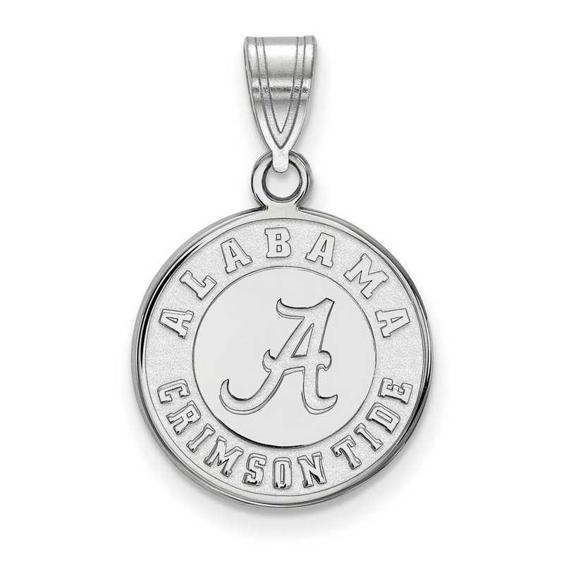 SS086UAL: SS LogoArt Univ of Alabama Medium Disc Pendant