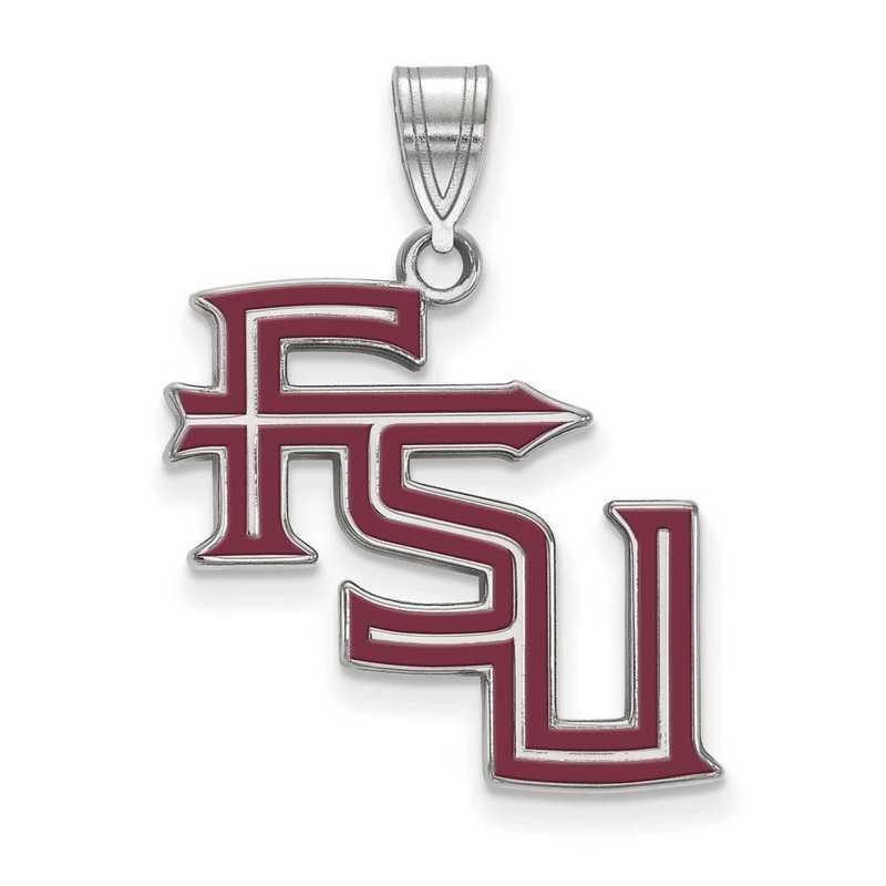 SS090FSU: SS LogoArt Florida St Univ LG Enamel Pendant