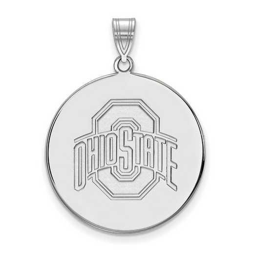 SS090OSU: SS LogoArt Ohio St Univ XL Disc Pendant