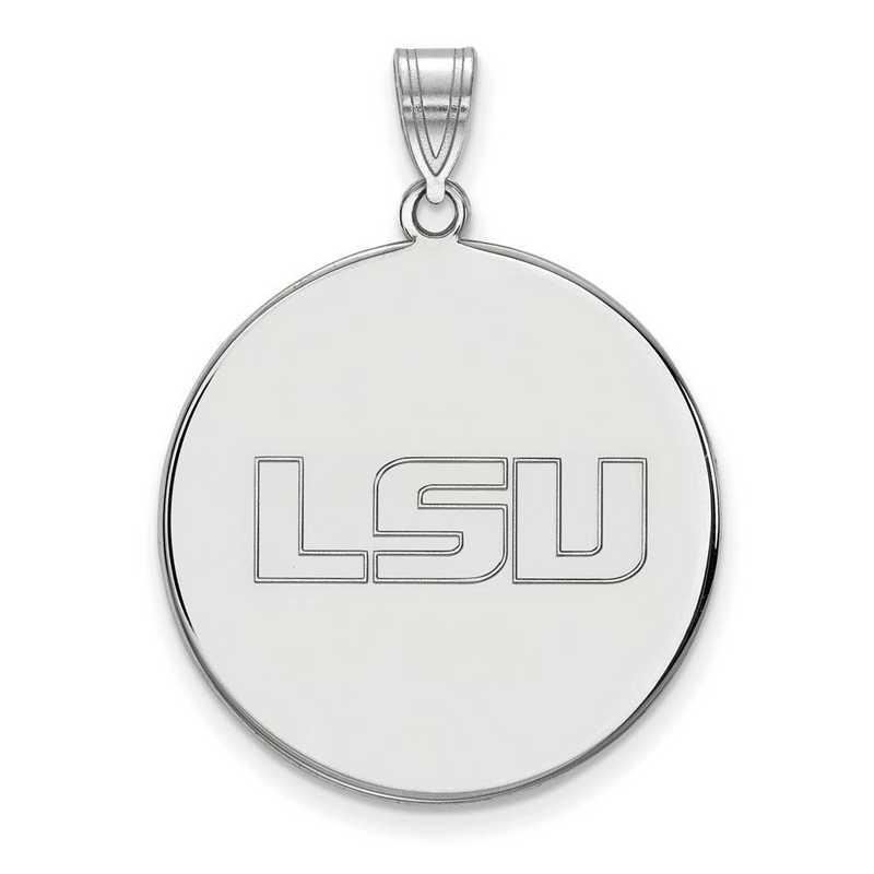 SS094LSU: SS LogoArt Louisiana St Univ XL Disc Pendant