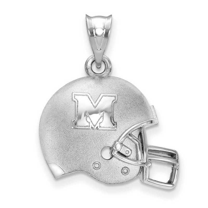 SS505MAU: SS LogoArt Marshall Univ 3D Football helmet w/Logo Penda
