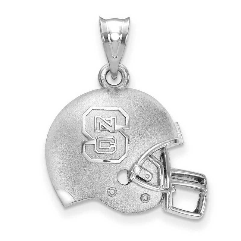 SS505NCS: SS LogoArt North Carolina State U 3D Football helmet w/logo