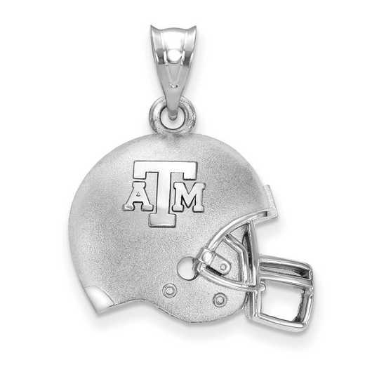 SS505TAM: SS Texas A&M Football Helmet Pendant