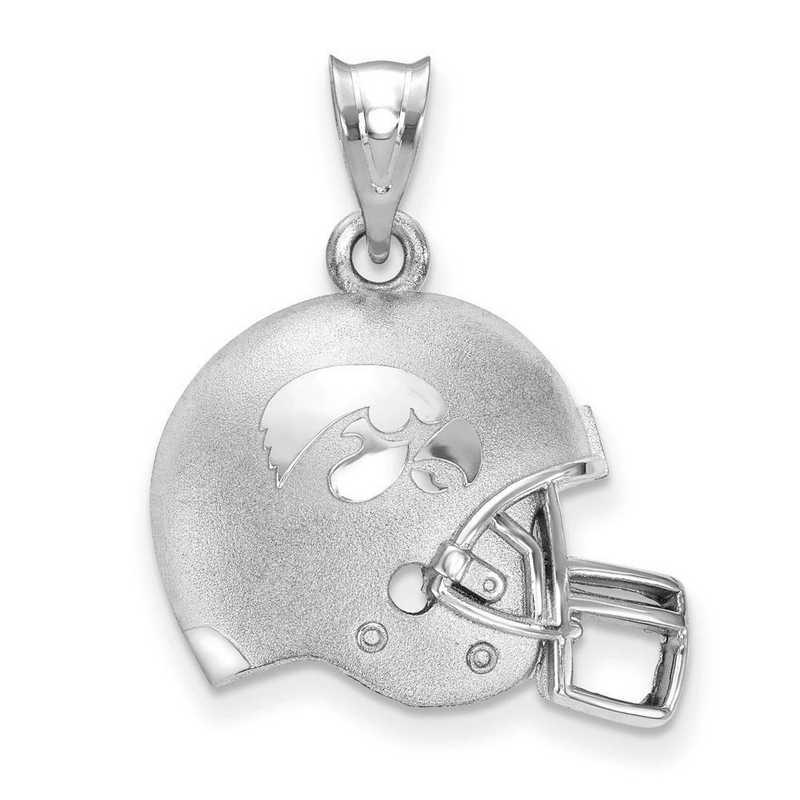 SS505UIA: SS LogoArt The U of Iowa 3D Football helmet w/logo Pendant