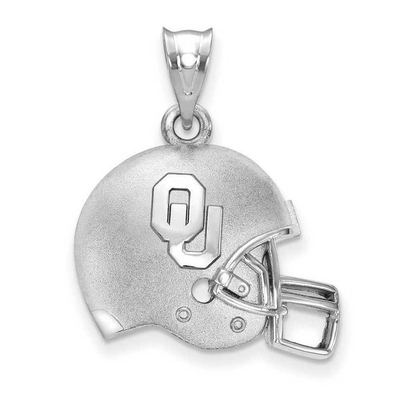 SS505UOK: SS Univ of Oklahoma Football Helmet Pendant