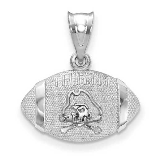 SS506ECU: SS East Carolina Univ Football Pendant