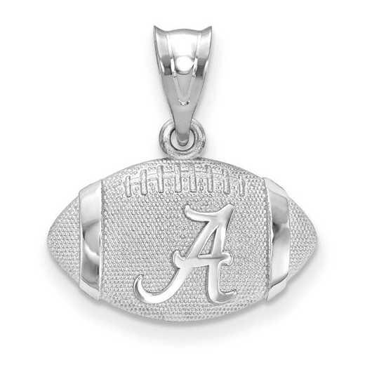 SS506UAL: SS LogoArt The Univ of Alabama 3D Football w/Logo Pendan