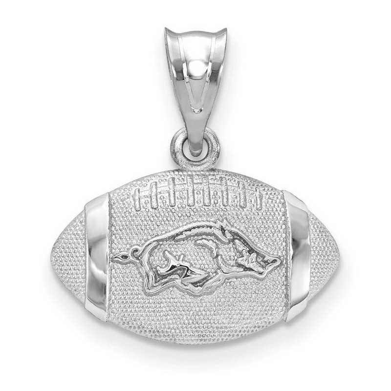 SS506UAR: SS Univ of Arkansas Football Pendant
