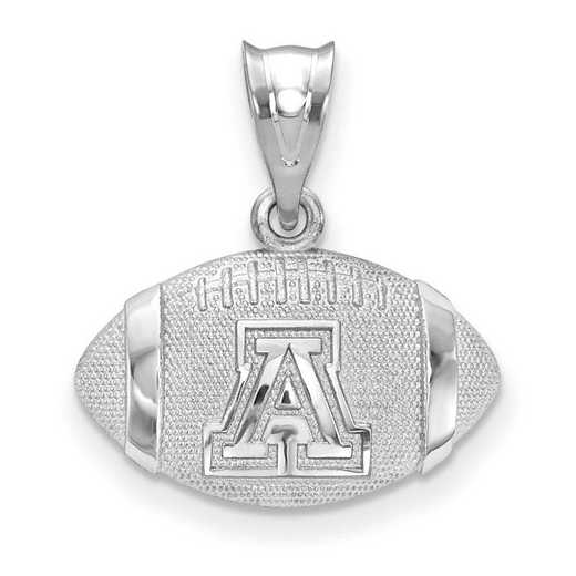 SS506UAZ: SS Univ Of Arizona Football Pendant