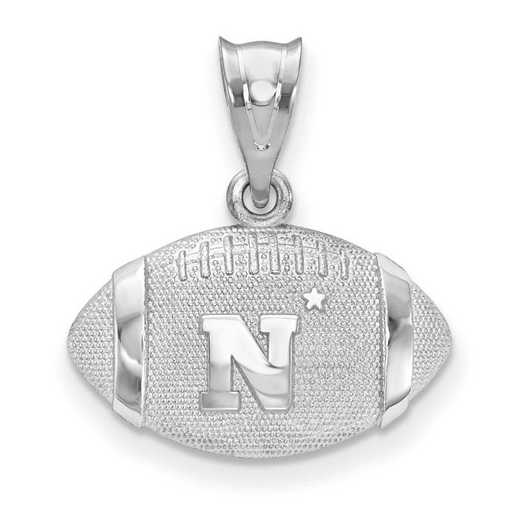 SS506USN: SS United States Naval Academy Football Pendant