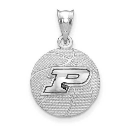 SS507PU: SS Purdue Univ Basketball Pendant