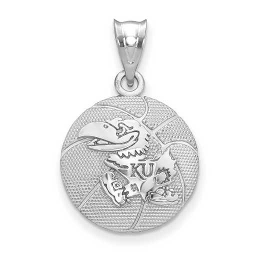 SS507UKS: SS The Univ of Kansas Basketball Pendant