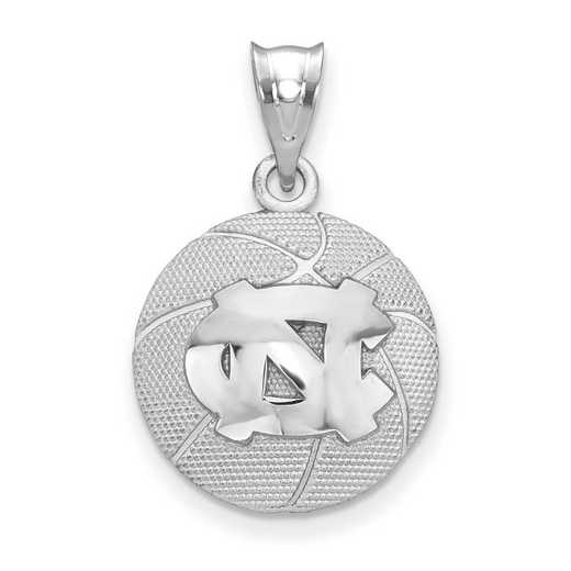 SS507UNC: SS The Univ of North Carolina Basketball Pendant