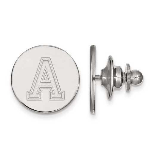 4W009USMA: 14kw LogoArt U.S. Military Academy Lapel Pin