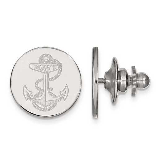 4W024USN: 14kw LogoArt Navy Lapel Pin