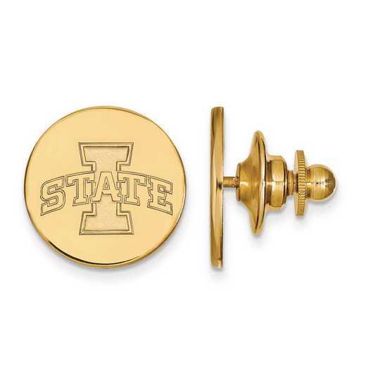 GP005IAS: Sterling Silver w/GP LogoArt Iowa State University Lapel Pin