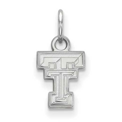 SS001TXT: 925 Texas Tech XS Pendant