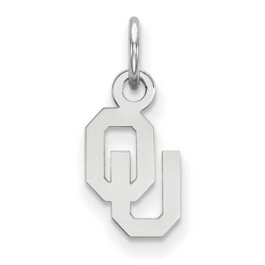 SS001UOK: 925 Oklahoma XS Pendant