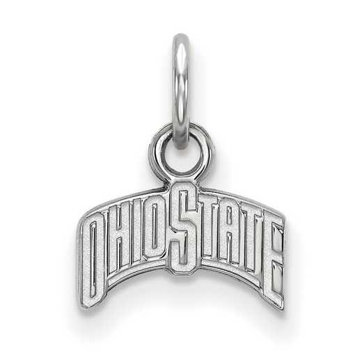 SS066OSU: 925 Ohio State XS Pendant