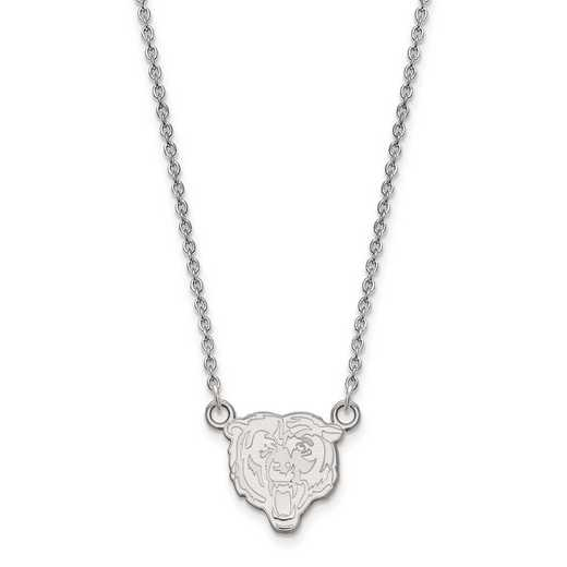 SS011BEA-18: 925 Chicago Bears Pendant Necklace