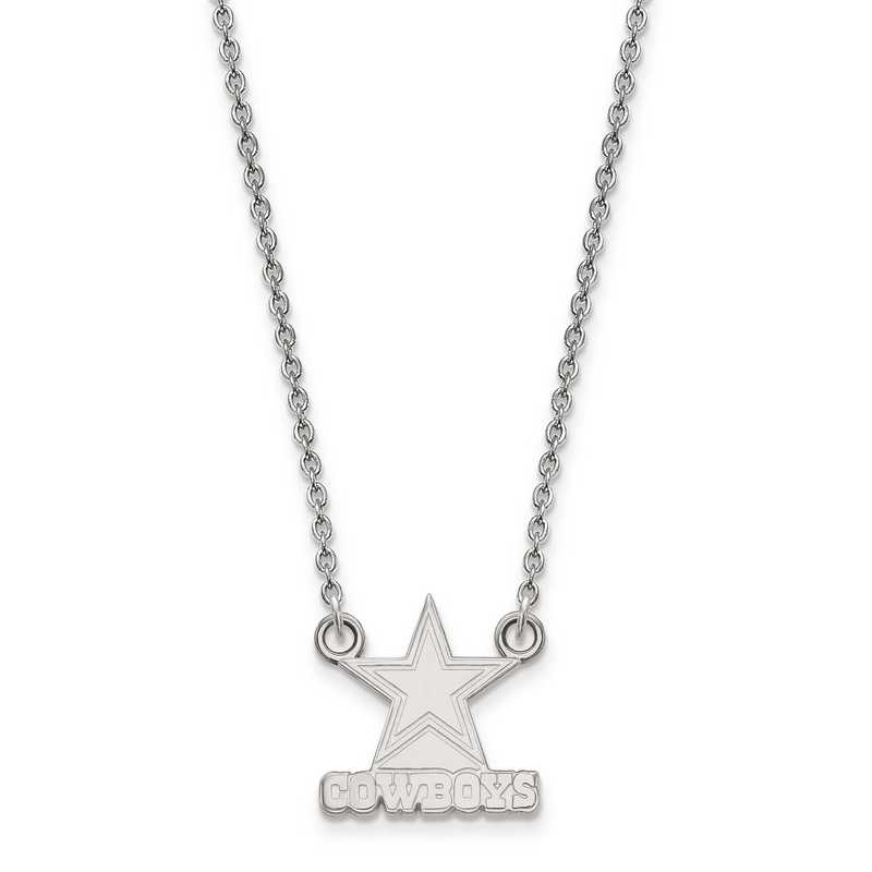 SS011COW-18: 925 Dallas Cowboys Pendant Necklace