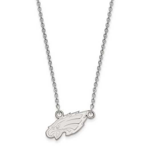 SS011EAG-18: 925 Philadelphia Eagles Pendant Necklace
