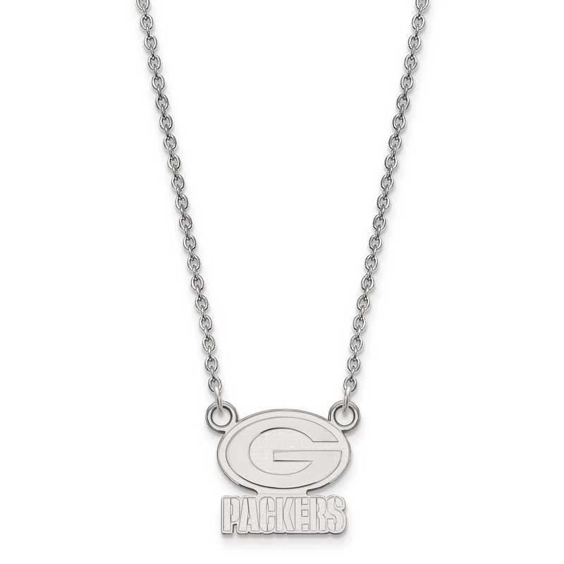 SS011PAC-18: 925 Green Bay Packers Pendant Necklace