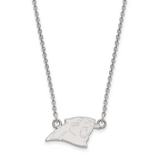 SS011PAN-18: 925 Carolina Panthers Pendant Necklace