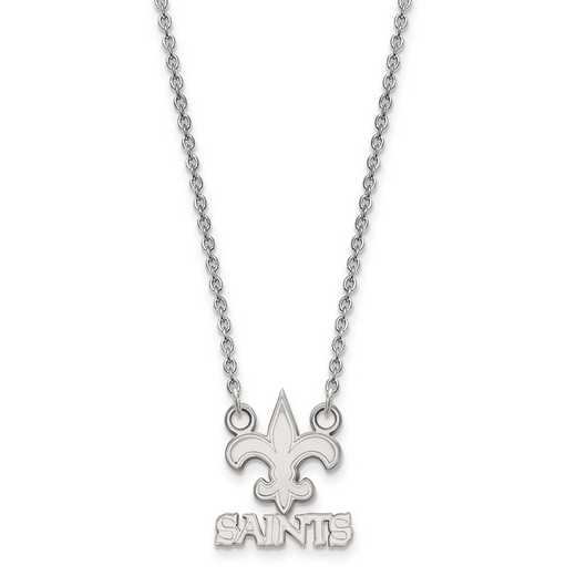 SS011SAI-18: 925 New Orleans Saints Pendant Necklace