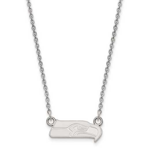 SS011SEA-18: 925 Seattle Seahawks Pendant Necklace