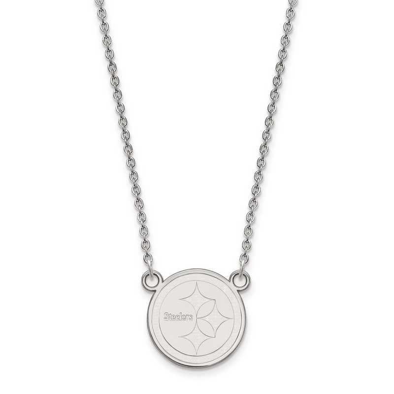 SS011STE-18: 925 Pittsburgh Steelers Pendant Necklace