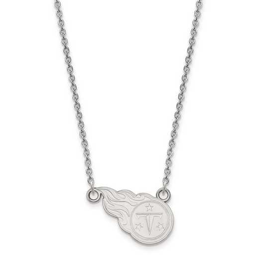 SS011TIT-18: 925 Tennessee Titans Pendant Necklace