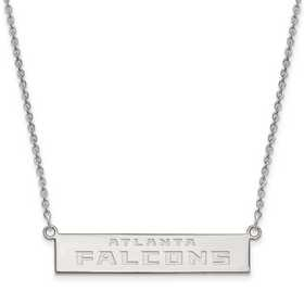 SS016FAL-18: 925 Atlanta Falcons Bar Necklace