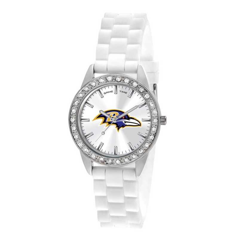 XWL1096: Ladies' NFL Frost Watch - Baltimore Ravens