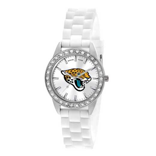 XWL1108: Ladies' NFL Frost Watch - Jacksonville Jaguars