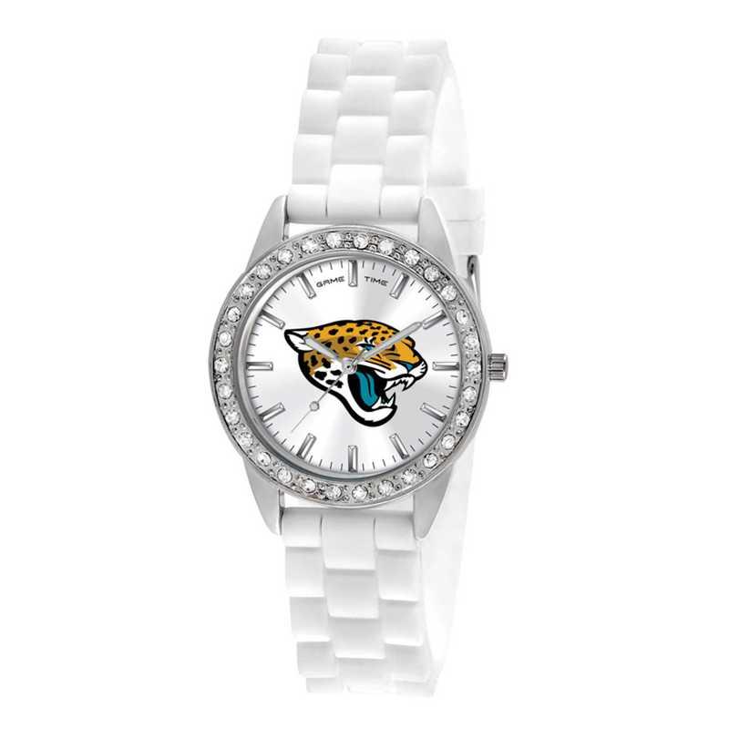 XWL1108: Ladies' NFL Frost Watch - Jacksonville Jaguars