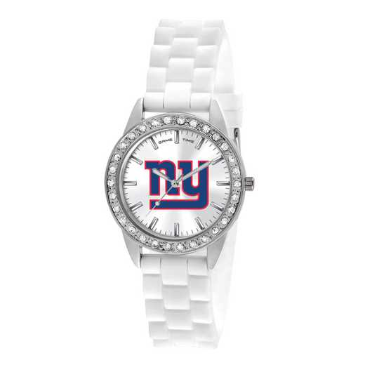 XWL1114: Ladies' NFL Frost Watch - New York Giants