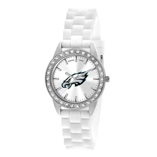 XWL1117: Ladies' NFL Frost Watch - Philadelphia Eagles