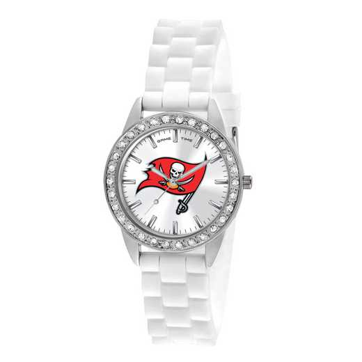 XWL1122: Ladies' NFL Frost Watch - Tampa Bay Buccaneers