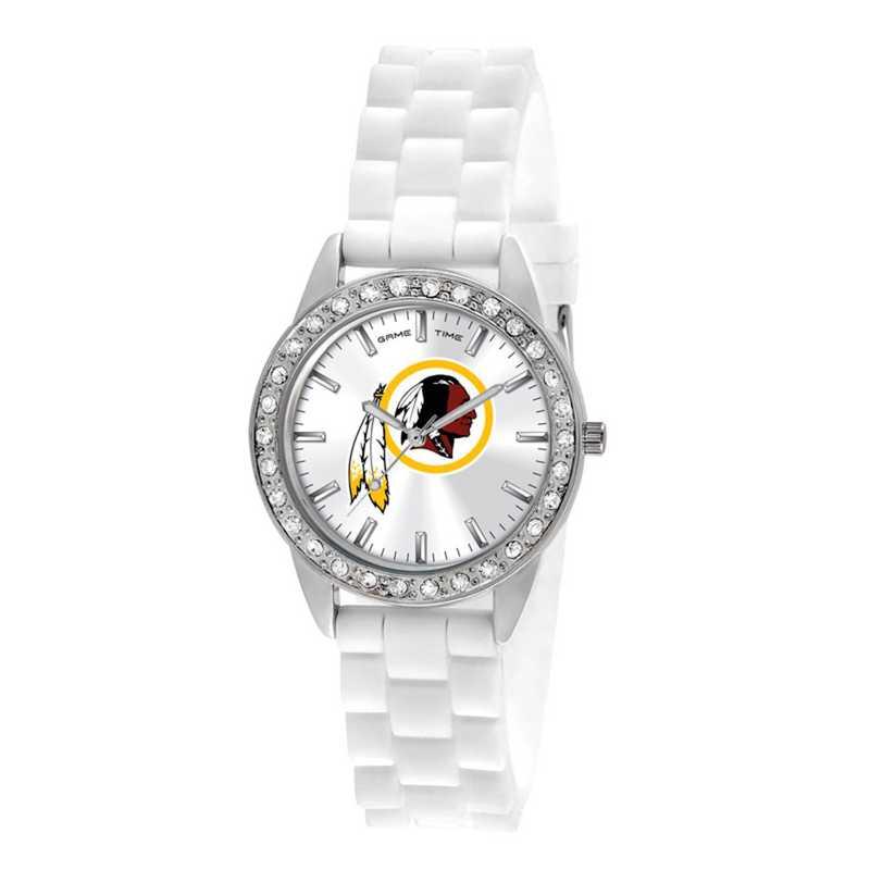 XWL1124: Ladies' NFL Frost Watch - Washington Redskins