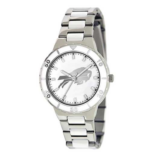 XWL746: Ladies NFL Buffalo Bills Mother of Pearl Watch